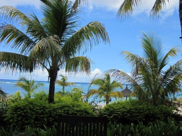 A pleasant afternoon at Le Victoria, Mauritius, February 2013