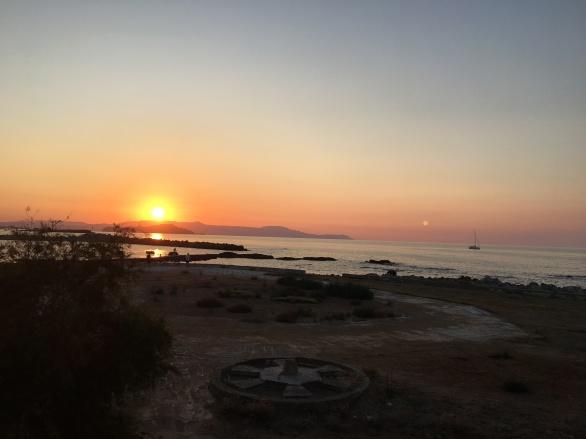 chania-sunset