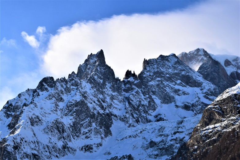 Alps at the Mont blanc tunel