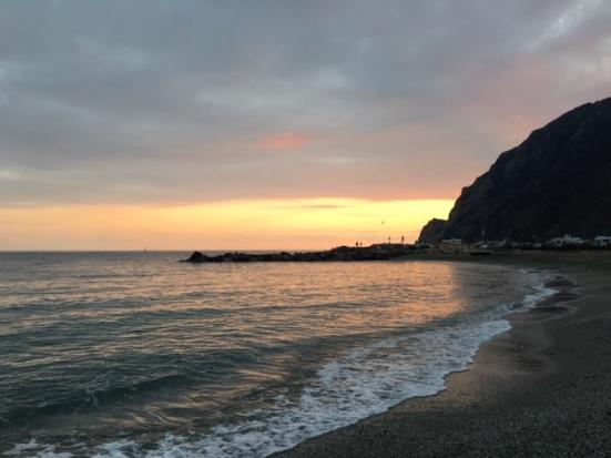 Monterosso al Mare sunset